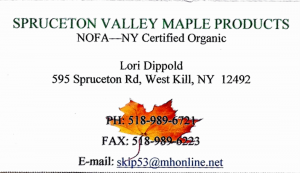 Spruceton Valley Maple Products
