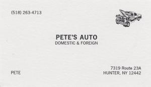 Pete's Auto