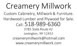 creamery millwork