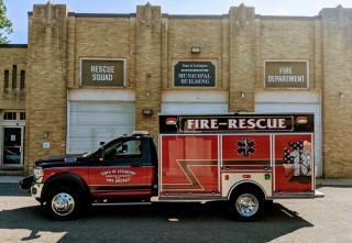 Lexington Rescue Fire Truck