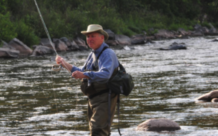 Trout fishing in the Schoharie Creek